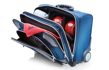 Drakes Pride High Roller Trolley Bag Petrol Blue